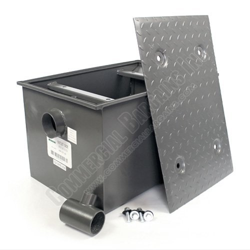 WentWorth 50 Pound Grease Trap Interceptor 25 GPM Gallons Per Minute WP-GT-25