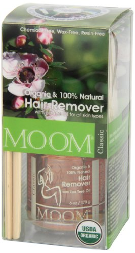 Moom Organic Hair Removal Kit, Tea Tree, 6-Ounce Package by Moom (Image #5)