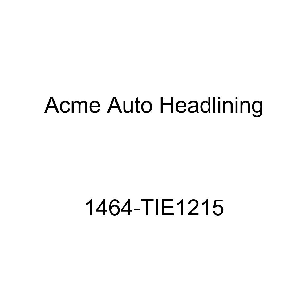 Acme Auto Headlining 1464-TIE1215 Turquoise Replacement Headliner 1956-57 Bel Air, Two-Ten /& Catalina 4 Dr Hardtop 7 Bow, None Chrome