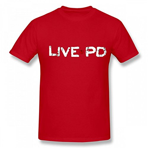 Handsome Live PD TV Show Men Novelty Funny Stylish T Shirt Live Mens Tee