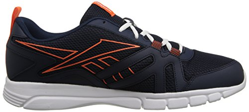 Reebok Faux L Training Indigo Tangerine White Motion RS Men's Shoe Vivid 4Wq74YrO