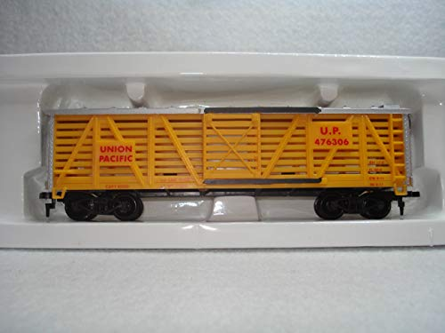 NEW Limited Series With Silver Roof * Life-Like HO * 41' UP Cattle Car w/Operating Doors Item