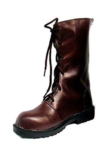 Bromeo Vampire Knight Anime Kuran Yuki Cosplay Schuhe Stiefel Stiefeletten