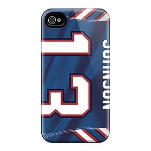 DannyLCHEUNG Iphone 4/4s Bumper Hard Phone Covers Allow Personal Design Nice Buffalo Bills Series [Fxu19842DKwf]