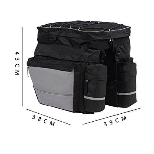 Fahrrad-Packtaschen Rahmentasche Gepäckträgertasche