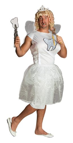 Rubie's Costume Double Take Too Fairy Costume, White, One Size