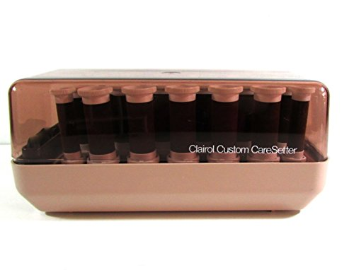 Vintage Clairol Custom CareSetter Electric Hot Hair Rollers Curlers KF-20 Pageant
