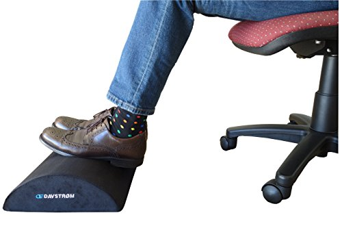 foot rest under desk cushion new davstrom ergonomic footrest pillow home office travel. Black Bedroom Furniture Sets. Home Design Ideas