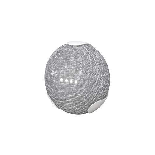 (360 Electrical 360577 EasyClip Wall Mount for Google Home Mini - Google Bracket Stand Holder Case, for Kitchen, Bathroom, Bedroom, Living Room, Office, Chalk)