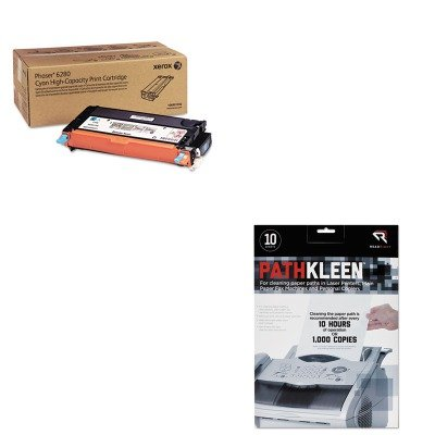 KITREARR1237XER106R01392 - Value Kit - Xerox 106R01392 High-Yield Toner (XER106R01392) and Read Right PathKleen Printer Roller Cleaner Sheets (REARR1237)