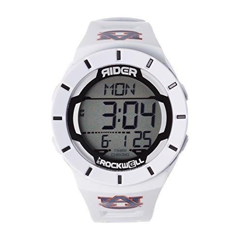 Rockwell NCAA Auburn Tigers Men's Coliseum Watch, Adjustable, White ()