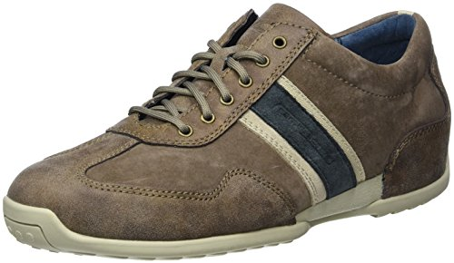 camel active Herren Space 27 Low-Top, Braun (Brown/Peat Kombi 02)