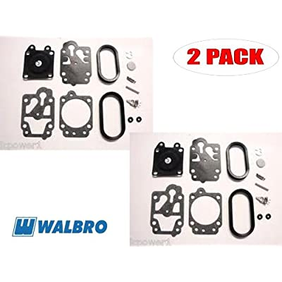 Walbro K20-WYA Carb Repair Kit for Red Max BCZ2500DL S/GZ25N (2 Pack): Home & Kitchen