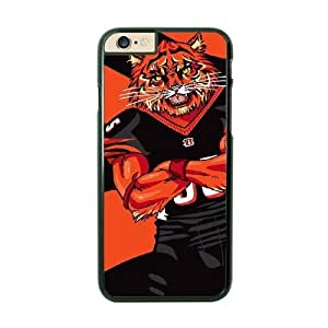 NFL Case Cover For Apple Iphone 6 4.7 Inch Black Cell Phone Case Cincinnati Bengals QNXTWKHE1729 NFL Generic Fashion Phone s