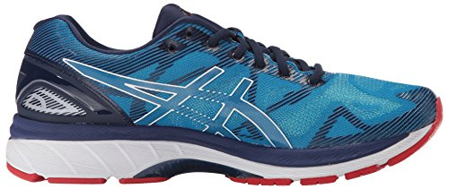 ASICS Men's Gel-Nimbus 19 Running Shoe Diva Blue/White/Indigo Blue new styles jYA9q