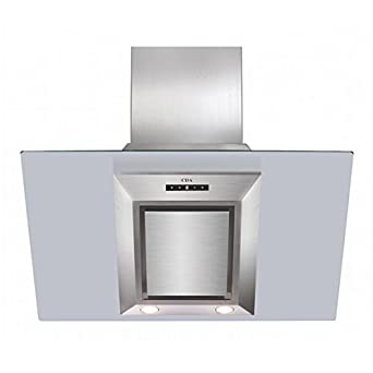 cda evg9 90cm touch control angled cooker hood extractor. Black Bedroom Furniture Sets. Home Design Ideas
