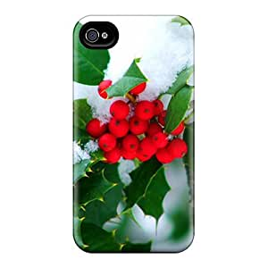 New Cute Funny Snow Leaf Case Cover/ Iphone 4/4s Case Cover