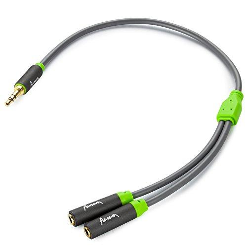 Aurum Cables Female Stereo Splitter