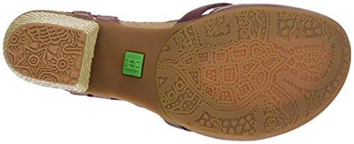 El Naturalista N5032 Soft Grain Mola, Zapatos de Tacón con Punta Cerrada para Mujer Rojo (Tibet)
