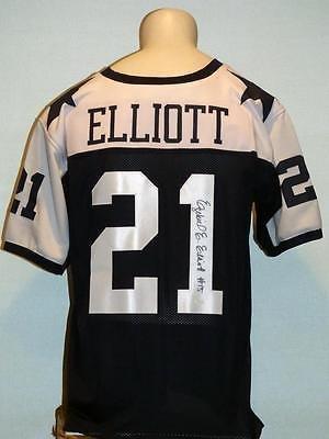 Signed Ezekiel Elliott Jersey - Custom - JSA Certified - Autographed NFL Jerseys
