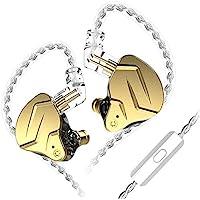 KZ ZSN Pro X in Ear Buds Earphones Yinyoo Hybrid Dynamic Driver Balanced Armature Earbuds Headphones Dual Driver 1DD 1BA…