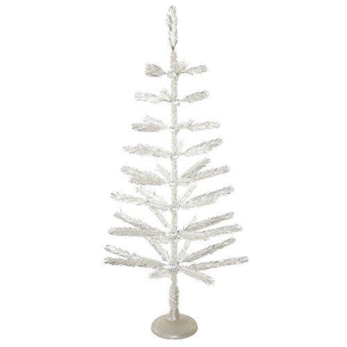 Vickerman Silver Feather Tree Christmas