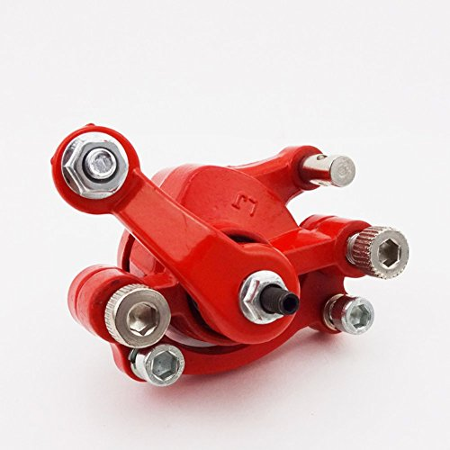 TC-Motor Gas Scooter Rear Right Side Disc Brake Caliper For 2 Stroke 43cc 47cc 49cc Engine Mini Moto Pocket Dirt Bike Red Steel