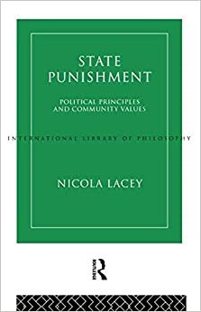 Book State Punishment (International Library of Philosophy)