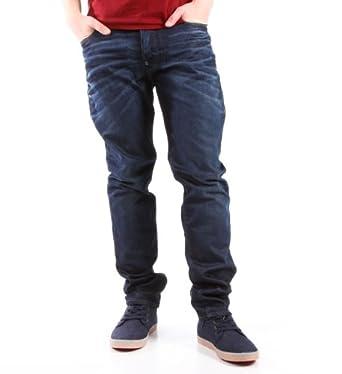 dba56b5a078 G-Star Men's Blades Tapered Slim Jeans, Blue, 29W/30L: Amazon.co.uk ...