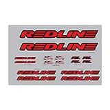 Redline Complete Decal Set Red