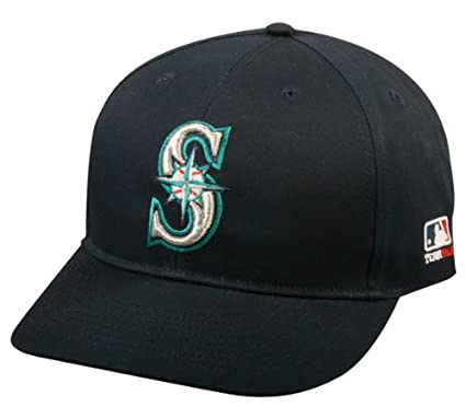 Amazon.com   Youth FLAT BRIM Seattle Mariners Home Navy Blue Hat Cap ... 061401e4871