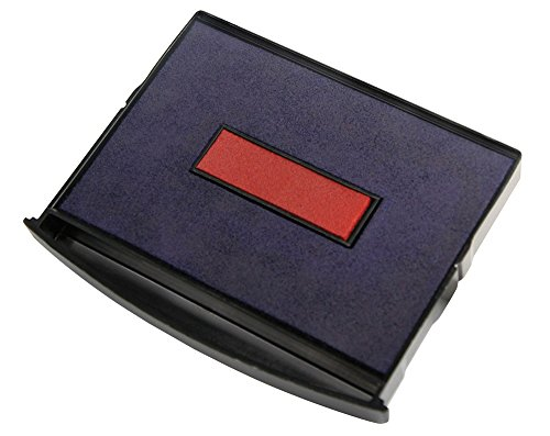 Replacement Ink Pad E/2300/2 for Colop 2000 Plus Daters, Blue/Red Ink