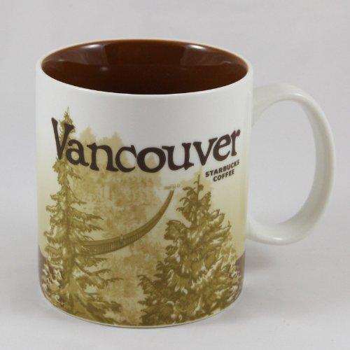 Starbucks Coffee 2009 Collector Series Vancouver Mug 16 fl o