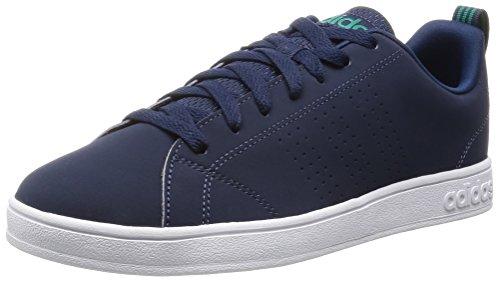 adidas Advantage Clean Vs, Zapatillas de Deporte para Hombre Azul Marino / Turquesa (Maruni / Maruni / Eqtver)