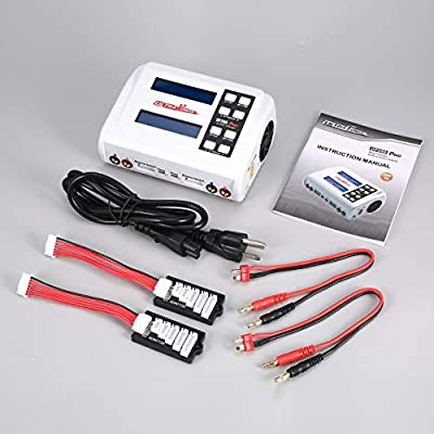 Liobaba UP200 Duo 200W 10A AC/DC Battery Balance Charger/Downloader for LiPo Life Lilon LiHV NiCd NiMh Pb RC Battery