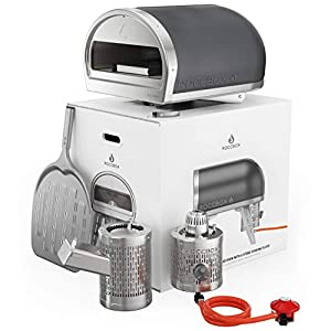 ROCCBOX by Gozney Portable Outdoor Pizza Oven – Gas Fired, Fire & Stone Outdoor Pizza Oven, Includes Professional Grade…