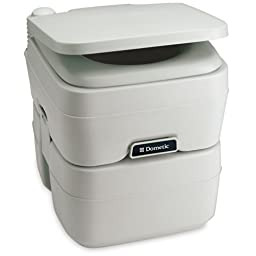 Dometic - 965 MSD Portable Toilet 5.0 Gallon Platinum