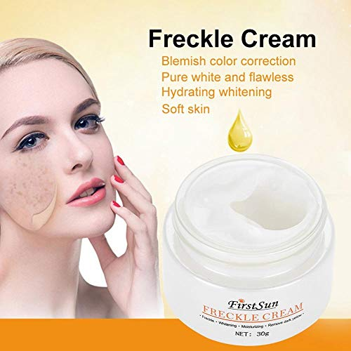 Crema Blanqueadora Facial para Quitar Pecas, Manchas Oscuras y Brillo Tónico Piel Crema Facial Hidratante Facial Natural: Amazon.es: Belleza