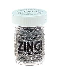 Zing! Glitter Embossing Powder 1oz-Silver