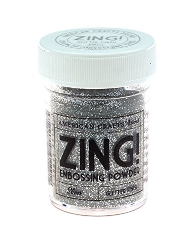 (Zing! Glitter Embossing Powder 1-Ounce, Silver)