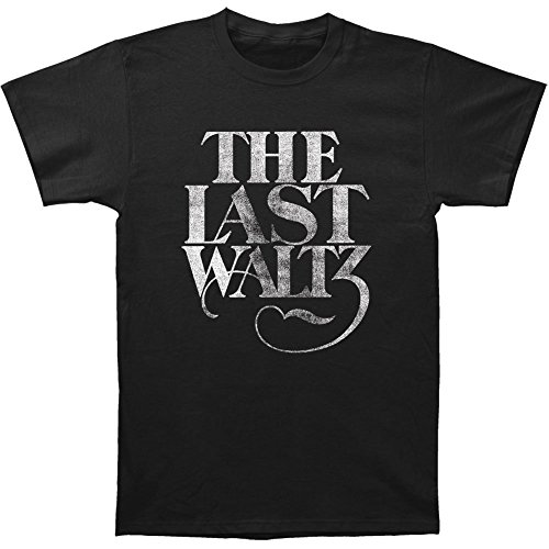 The Band The Last Waltz Print Men's Fitted Cotton Shirt