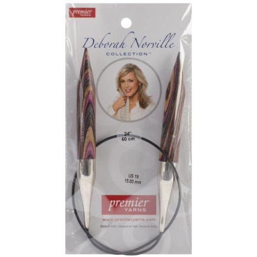 UPC 847652018232, Premier Yarns Deborah Norville Fixed Circular Needles, 24-Inch