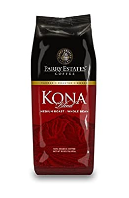 Parry Estates Coffee Kona Blend Whole Bean 1 lb.