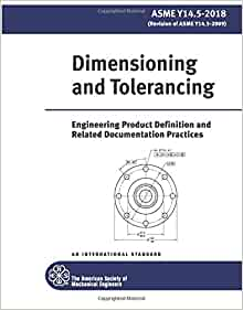 Amazon com: ASME Y14 5-2018: Dimensioning and Tolerancing: 8 2