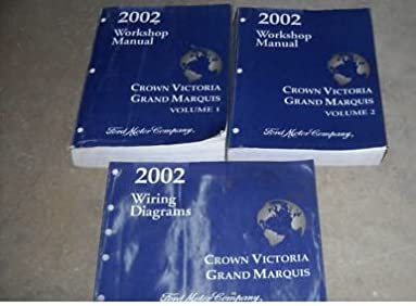 Grand marquis 2002 wiring diagram manual user guide manual that 2002 crown victoria grand marquis service manual set 2 volume set rh amazon com mercury grand marquis wiring diagram 2000 grand marquis engine wiring fandeluxe Choice Image