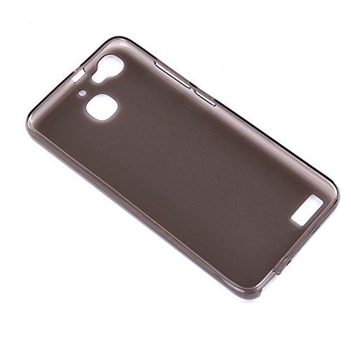 tinxi® Funda de silicona para Samsung Galaxy A3 4,7 pulgadas 2016 Version A310F Caso de silicona TPU caso de la cubierta de la contraportada de silicona protectora caso bolsa con el dibujo del diente  ransparente y negro fondo