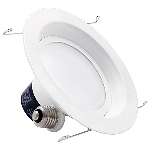 Led Recessed Lighting Kit 5000k : Torchstar w inch led retrofit recessed lighting fixture