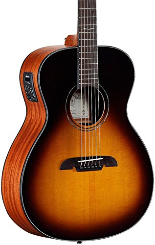 - Alvarez AF610ESB Folk Acoustic-Electric Guitar Sunburst