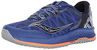 Saucony Men's Koa TR Running Shoe, Blue Orange, 10 Medium US