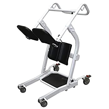 Image of Health and Household Lumex Stand Assist Patient Transport Unit, LF1600